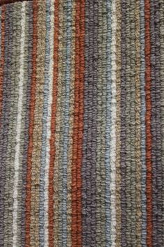 Stripey carpet - 100% wool (978 Terra) — yours4floors.co.uk | All Your Carpet, Laminate, Solid Wood, Engineered Wood & Vinyl Tiling in one Place