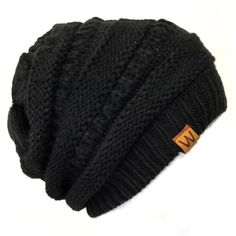 A soft beanie that is stylish as well. This beanie is thick knitted with acrylic for extra warmth. A two toned color to give the beanie dimension and to add color to any outfit. The perfect winter accessory for keeping warm while looking fashionable. Yellow Beanie, Black Beanie, Black Hats, Pink Beanies, Dress Gloves, Knit Beanie, Slouchy Beanie Outfit, Unisex, Womens Scarves