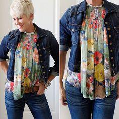 Nice blouse.