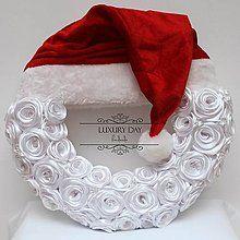 Dekorácie - vianočný veniec - SANTA veľký - 4857514_