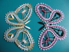 Lace Drahenice_2010 – Listovka :-) – Webová alba Picasa Crochet Butterfly, Butterfly Pattern, Freeform Crochet, Irish Crochet, Bruges Lace, Romanian Lace, Bobbin Lacemaking, Types Of Lace, Lace Art