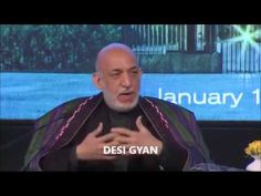 Hamid Karzai in India : How Pakistan RUINED generations of Afghans ! - YouTube