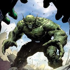The Abomination, a former spy that was mutated by radiation, giving him Hulk-like strength.
