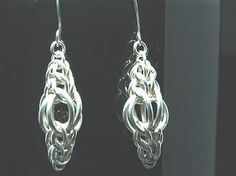 Chainmaille Earrings Persian Lamps