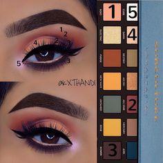 Anastasia Subculture eye Palette tutorial #beauty #makeup #eye #anastasia #tutorial #ad