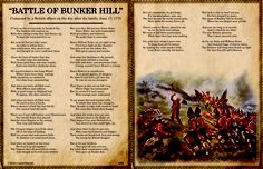 "Read ""Battle of Bunker Hill,"" composed after the battle of Bunker Hill, with a preview resource from our Teaching through Text Sets series!"