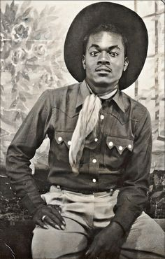 vintage cowboy