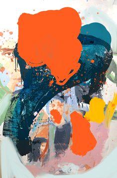 Fine contemporary oil paintings created in Heidi Zito's artist studio in Brooklyn, New York. Picasso Paintings, Cool Paintings, Colorful Abstract Art, Painting Inspiration, Creative Art, Watercolor Art, Modern Art, Art Projects, Illustration Art