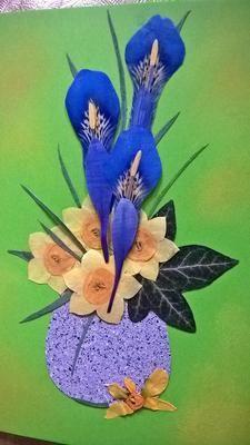 Pressed Flower Cards for Easter