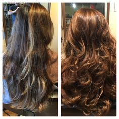Color correction and long layers