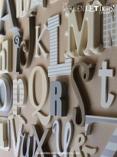 Wall Of Letters. Wall Of Letters. Words Need A Job Consisting Letters Wooden Construction Cubes Metal Wall Letters, Initial Wall Art, Letter Wall Decor, Nursery Wall Decor, Wooden Letters, Country Wall Decor, Rustic Wall Decor, Hobby Lobby Wall Decor, Wall Decor Amazon
