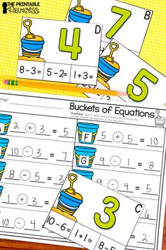 Kindergarten Ocean Centers includes Math and Literacy Activities - This 50+ page is a great end of the year packet for Kindergarten. The no prep practice pages included are great as extra literacy and math centers, quick activities, extra practice, homework, morning work, and much more! These centers are easy to prep and so much fun for students. You get real and nonsense words, secret code CVCe words, write the room, addition and subtraction practice, ten frames, teen numbers and more.