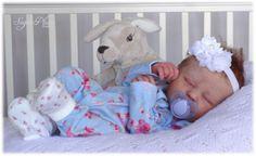 SUGAR-PLUM-NURSERY-Reborn-baby-girl-doll-REALBORN-SLEEPING-KIMBERLY