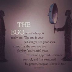 "1,074 Likes, 13 Comments - Ravinth Ji (@intellectual_activist) on Instagram: ""You are not your ego ✨ Via @thirdeyethoughts ✨"""