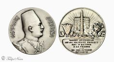 https://flic.kr/p/aWgCZx   A Commemorative Medal Of The Official Visit of King Fouad I To France In 1927   Designed by; Vernier & Falize