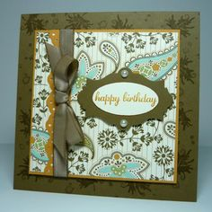 Spice Cake Birthday by dahlia19 - Cards and Paper Crafts at Splitcoaststampers