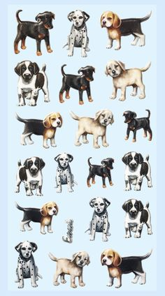 Hobby-Design Sticker * Hunde * 3451-231: Amazon.de: Küche & Haushalt