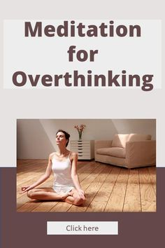 Do you want to know more about Meditation for overthinking? Do you have trouble calming your mind whilst meditating? In this post I'll teach 7 tips on how to quiet your mind whilst meditation so you can use the same skills to reduce overthinking about anything. Click here to learn more about how you can use meditation to stop overthinking. #meditationforoverthinking, #meditation, #overthinking Meditation Steps, Meditation Benefits, Meditation Practices, Guided Meditation, Mindfulness Practice, Mindfulness Meditation, Meditation Techniques For Beginners, Different Types Of Meditation, Habits Of Successful People