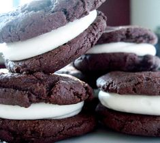 Homeade Oreo Cakesters - my husband would love these, going to have to give them a try