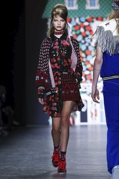 Anna Sui Fashion Show Ready to Wear Collection Spring Summer 2017 in New York