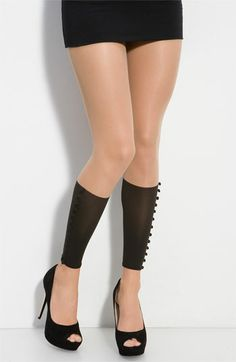 $190 'booty love' leggings. Really?? $190 for a pair of men's dress socks with the feet cut off and buttons sewed up the side?!