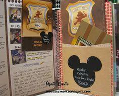 Disney Cruise smash book