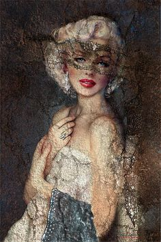 Marilyn in Art by www.fb.com/TheoDanella © TOTE BAGS * PILLOWS * CASES http://www.redbubble.com/people/theodanella Posters/Prints: www.PVZ.net ... and many more.... www.danella.de