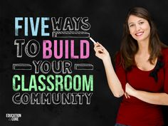Five Ways to Build Your Classroom Community