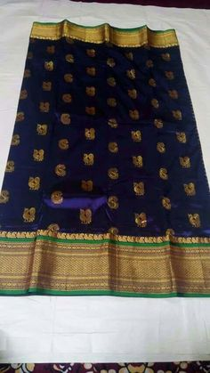 To order call/WhatsApp us on 8121153035 Indian Silk Sarees, Pure Silk Sarees, Ethnic Sarees, Organza Saree, Cotton Saree, Indian Dresses, Indian Outfits, Kanchipuram Saree, Kanjivaram Sarees