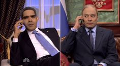 """President Obama is in private talks with Russian President Vladimir Putin regarding the crisis in Ukraine. Jimmy Fallon gave us an idea how they're going on Wednesday night's Tonight Show. Putin used some reverse psychology with a Yakov Smirnoff joke. """"Everything in Russia is opposite so technically Crimea invade us,"""" he laughed then immediately returned to his normal stoic face.  #tv #funny #politics  http://l7world.com/2014/03/jimmy-fallon-imagines-president-obama-putin-phone-call.html"""