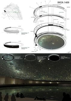 International Museum of Astronomy (First prize arquideas)  ECOLE NATIONALE SUPERIEURE D'ARCHITECTURE PARIS MALAQUAIS /
