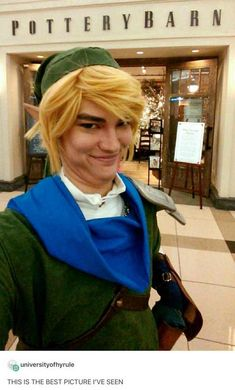 Cosplay Sometimes, dreams do come true! - More memes, funny videos and pics on Geeks, Ace Attorney, Legend Of Zelda Memes, Legend Of Zelda Costume, Twilight Princess, Best Cosplay, Link Cosplay, Funny Cosplay, Awesome Cosplay
