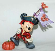 "If Pirate Mickey Mouse were to board our ship, we don't think we'd be very scared. ""AHOY, MATIE"" - MICKEY MOUSE AS PIRATE FIGURINE (JIM SHORE DISNEY TRADITIONS)"