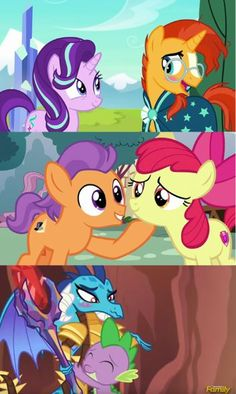 Season 6 is the Shipping Season. Don't forget the season 6 finale! The most fluttercord yet by far in those episodes!