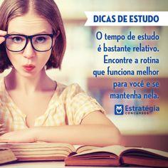 Dicas de estudo com a Estratégia Concursos! > http://estrategiaconcursos.com.br