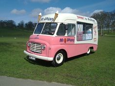 Ice Cream Van, a treat in the summer to have an ice-cream after school. Always parked on the village green.
