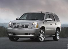 Cadillac Escalade. Jacob doesn't fully realize yet but this will be my next vehicle.