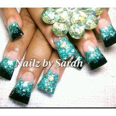 Acrylic nails - minus the duck feet