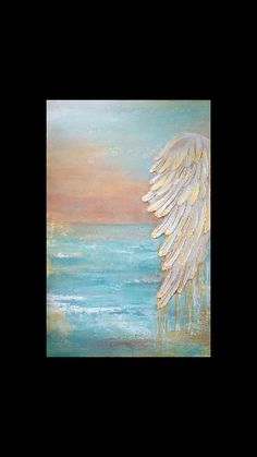 "(SOLD) ""Mom"" original by Beth Crum Art Angel Wings Painting, Angel Wings Art, Angel Artwork, Texture Art, Texture Painting, Farmhouse Paintings, Christian Paintings, Muse Art, Art Pictures"