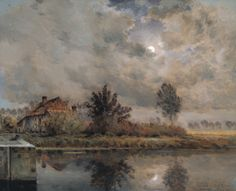 Jean-Charles Cazin - Canal Hazebrouck