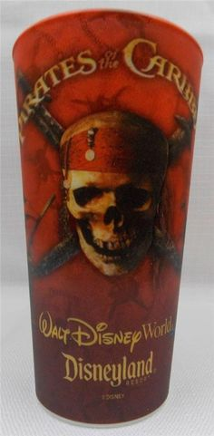 New in Collectibles, Disneyana, Contemporary (1968-Now) You are bidding on a New Walt Disney World Pirates of the Caribbean Hologram Plastic Cup  This is a Disney Parks Exclusive  Comes brand new, never used and is made of plastic  Measures about 5.5 inches tall and 3.5 across the top  I do not know the ounces, sorry