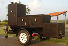 Hand crafters of insulated portable bbq pits, trailer bbq smokers and backyard barbecue grills and pits. Barbecue Grill, Grilling, Custom Smokers, Diy Wood Stove, Bbq Smoker Trailer, Custom Bbq Pits, Portable Bbq, Bar B Que, Food Trailer