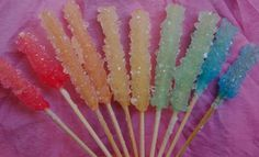 Home made rock candy!