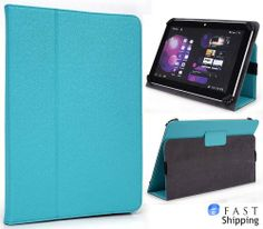 Turquesa ( Baby Blue ) Universal Book Style Cover Case with Built-in Stand [Accord Series] for D2 Pad Android 9 inch Tablet + EnvyDeal Velcro Cable Tie - http://androidizen.com/shop/turquesa-baby-blue-universal-book-style-cover-case-with-built-in-stand-accord-series-for-d2-pad-android-9-inch-tablet-envydeal-velcro-cable-tie/