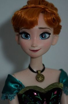 elsa repaint | OOAK Disney Limited Edition Anna Coronation Doll Repaint Custom Hair ...
