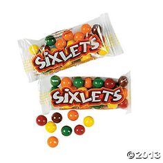 Sixlets® Candy Packs - Oriental Trading