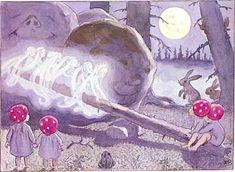 Elsa Beskow, Tomtebobarnen, or Children of the Forest (1910)