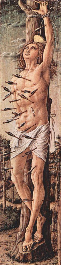 Saint Sebastian - Carlo Crivelli