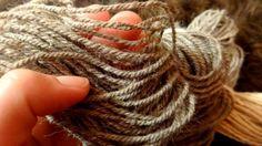 handgesponnene Wolle - Navajo gezwirnt