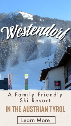 Westendorf: Our Guide To A Family Friendly Ski Resort In  The Austrian Tyrol. Westendorf markets itself as a family-friendly ski resort.  It is Westendorf's range of accommodation and skiing that has always made it a popular holiday choice, but the addition of the new link to the Kitzbühel and Kirchberg ski area, means that it now deserves attention from all keen skiers who are contemplating visiting Austria.  Learn more  at our site >>> Ski Austria, Visit Austria, Austrian Ski Resorts, Snow Holidays, Skiers, Top Hotels, Ski And Snowboard, Top Of The World, Beautiful Places To Visit